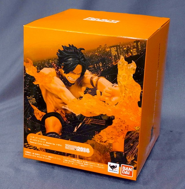 Tamashii Nations 2014 Figuarts Zero One Piece Portgas D. Ace Battle Ver Limited
