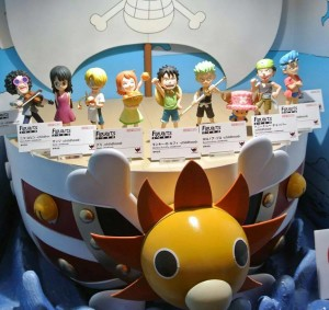 Tamashii Nation 2014 One Piece Figuarts Zero Childhood Figures Luffy Brook Franky Nami Robin Sanji Zoro