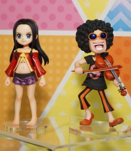 MegaHouse One Piece 2015 Brook and Boa Hancock POP Mild Figures