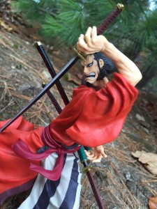 One Piece SCultures Kin'emon Figure Review