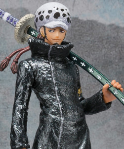 One Piece Figuarts Zero Trafalgar Law Special Color Edition Figure Close-Up