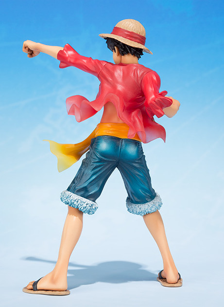 Back of Bandai Figuarts Zero Monkey D. Luffy 5th Anniversary Edition