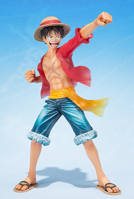 Bandai Tamashii Nations Figuarts Zero 2015 One Piece 5th Anniversary Luffy Statue