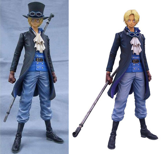 Master Stars Piece Sabo Regular Version vs Special Version Comparison