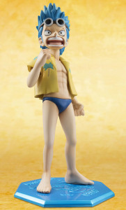 MegaHouse One Piece POP Mild Franky Figure with Angry Face