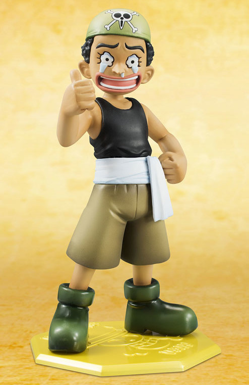MegaHouse One Piece Portrait of Pirates Usopp Child Figure Crying Face