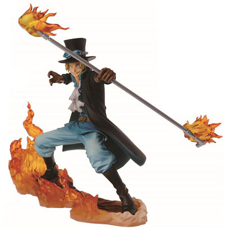 One Piece DXF Brotherhood II Sabo Figure Statue Banpresto 2015