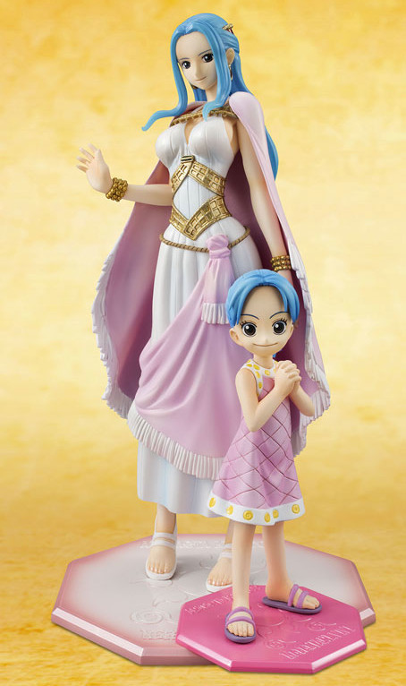 One Piece POP Vivi Figure Size Comparison with Mild Vivi Figure 2015