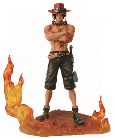 One Piece Portgas D. Ace Brotherhood II DXF Figure Statue