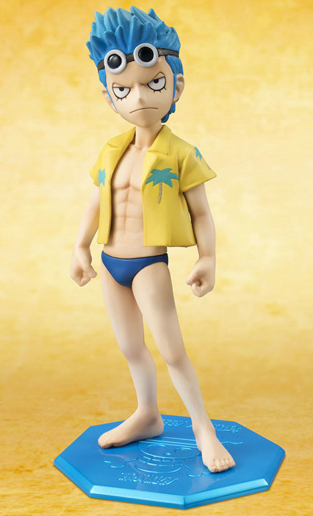 One Piece Portrait of Pirates Franky Child Figure CB-R3 2015