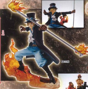 One Piece Sabo Brotherhood II Banpresto Statue Figure