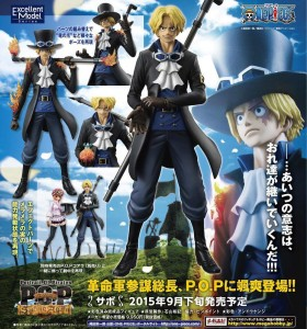 MegaHouse One Piece P.O.P Sabo Sailing Again Figure Poster