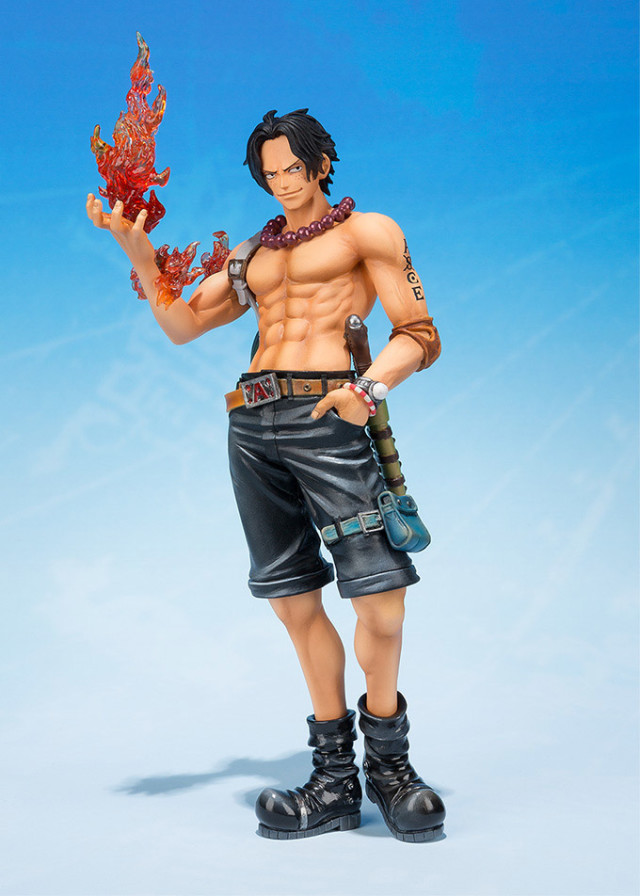 Bandai Figuarts Zero One Piece 2015 Portgas D. Ace Figure