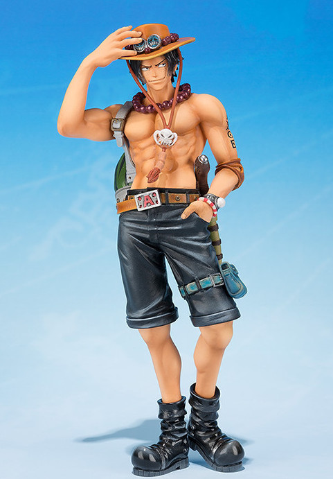 Bandai Tamashii Nations Portgas D. Ace Figure 2015 One Piece Fifth Anniversary