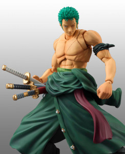 MegaHouse One Piece Variable Action Heroes Zoro Figure