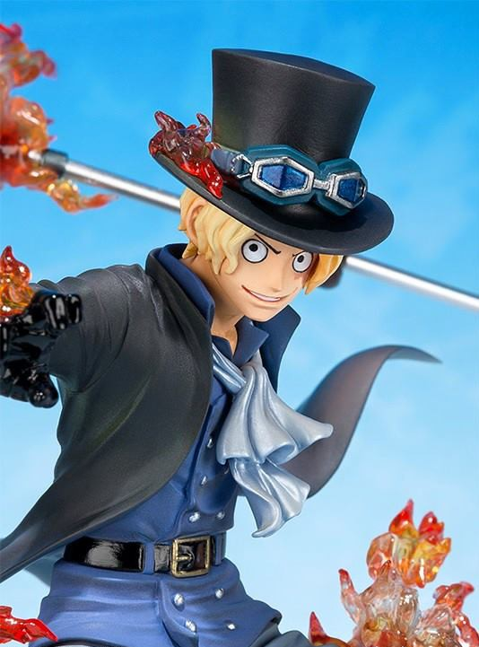One Piece Figuarts Zero Sabo 5th Anniversary Figure Close-Up