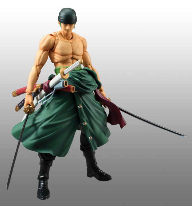 Roronoa Zoro Variable Action Heroes Action Figure