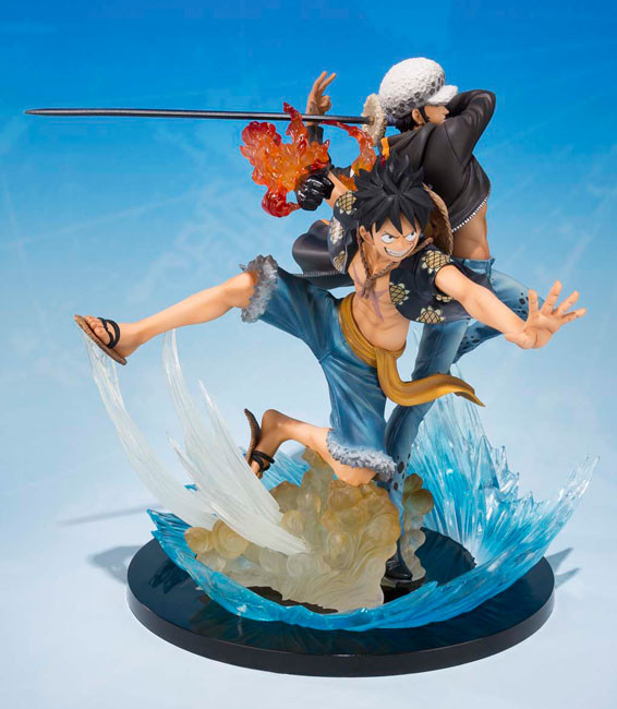 Bandai Tamashii Nations Luffy Law Statue Figuarts Zero Figure 5th Edition