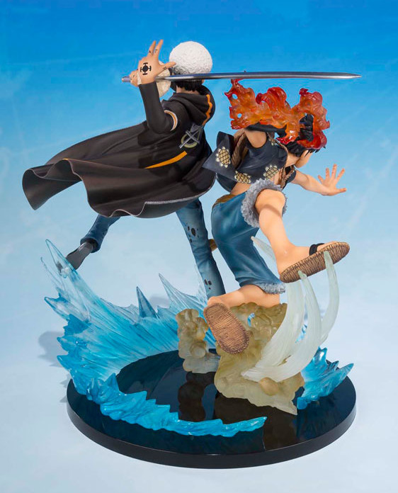 Figuarts Zero Luffy and Law 5th Anniversary Edition Figure
