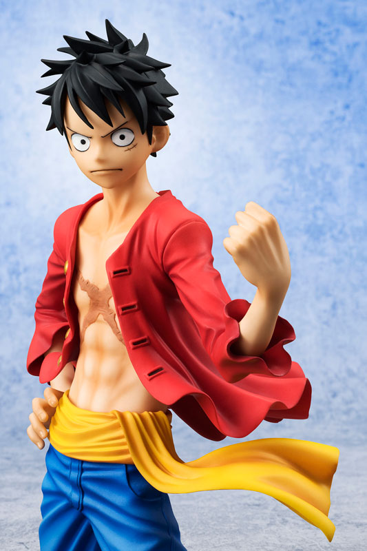 Close-Up of Luffy Version 2 Portrait of Pirates Figures