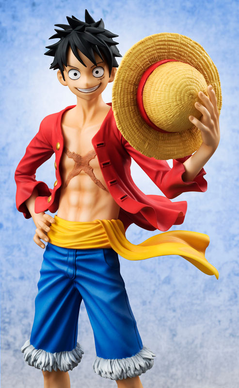Luffy Sailing Again POP Version 2 Smiling Face Head PVC Figure