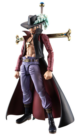One Piece MegaHouse Mihawk Variable Action Heroes Figure