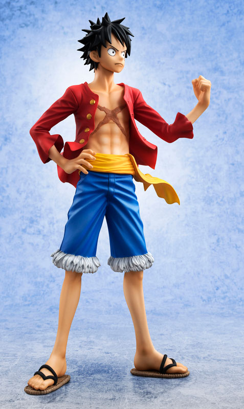 Side View of Portrait of Pirates 2016 Monkey D. Luffy Figure