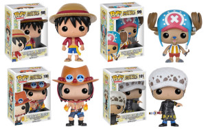 Funko One Piece POP Vinyls Figures Luffy Ace Law Chopper