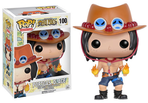 One Piece POP Vinyls Portgas D. Ace Figure