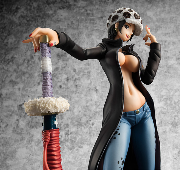 Female Trafalgar Law as a Girl MegaHouse One Piece POP Statue