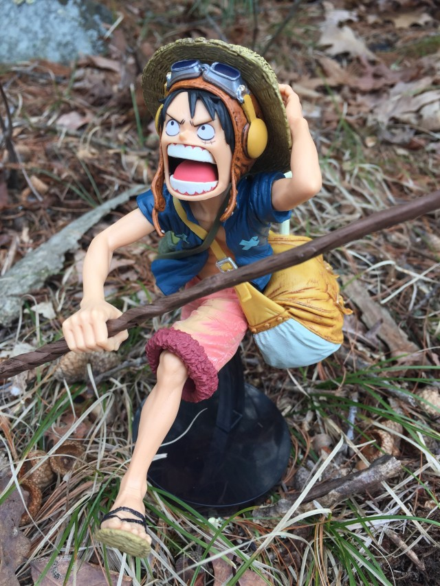 One Piece Strong World Movie SCultures Vol. 4 Luffy Figure