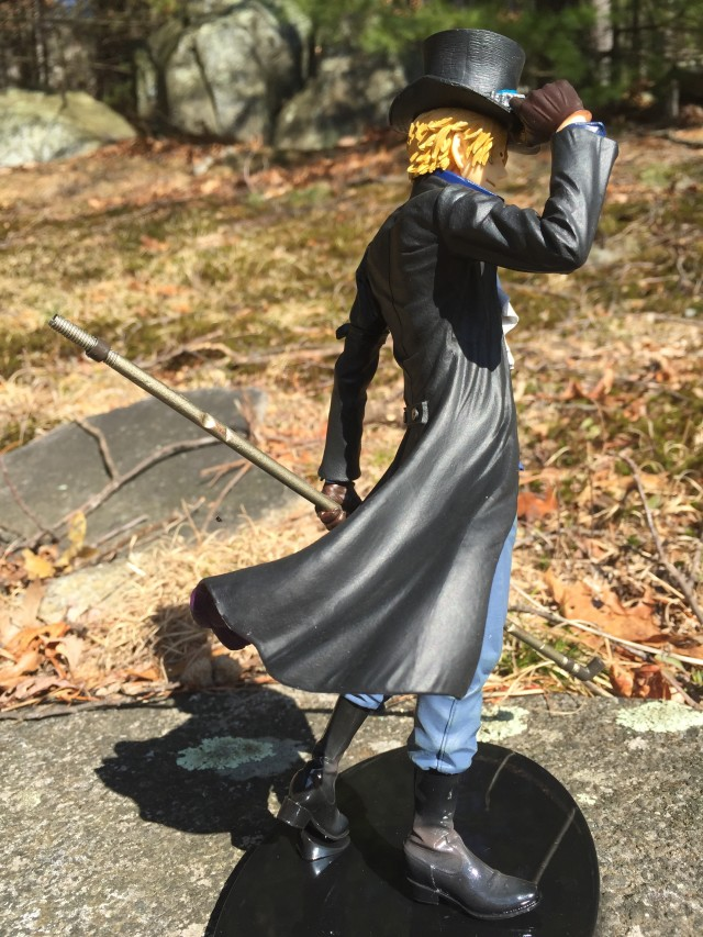 Side View of Sabo SCultures Banpresto Figure