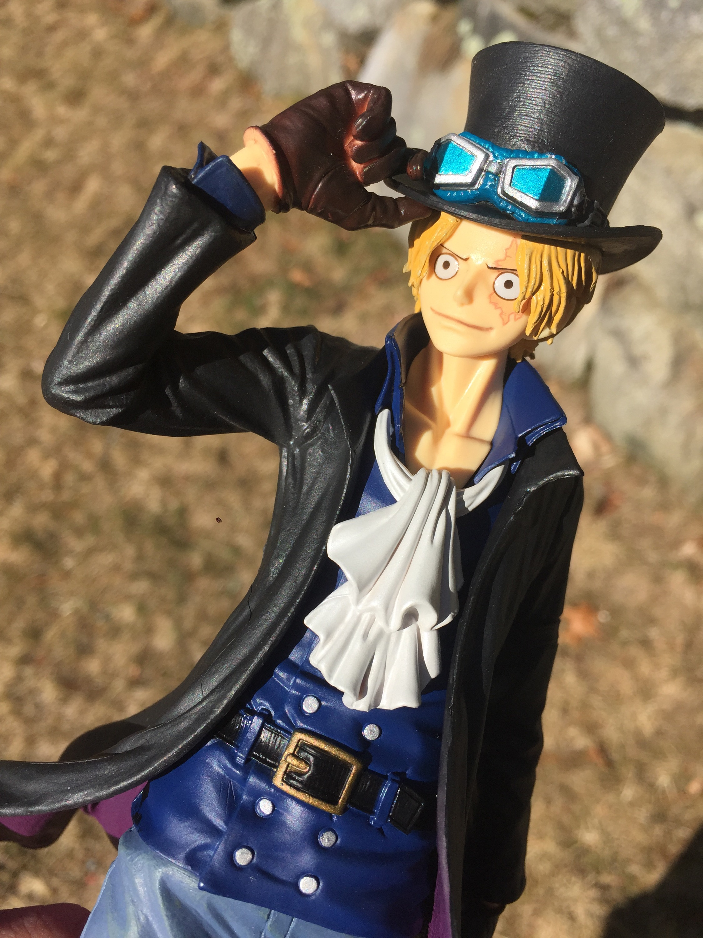 One Piece SCultures Sabo Figure Review