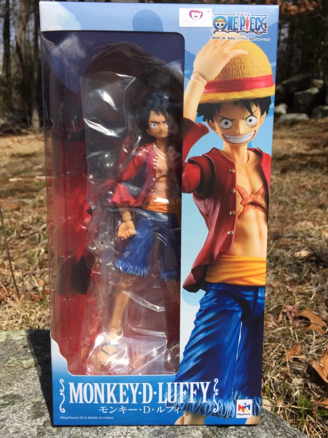 One Piece Variable Action Heroes Monkey D. Luffy Box