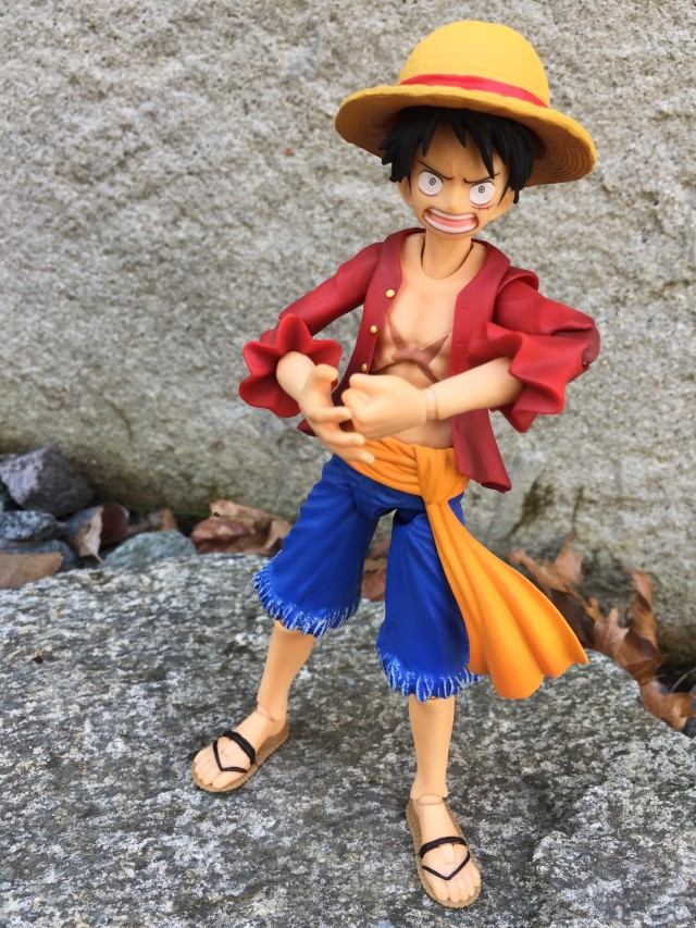Monkey D. Luffy Variable Action Heroes Action Figure