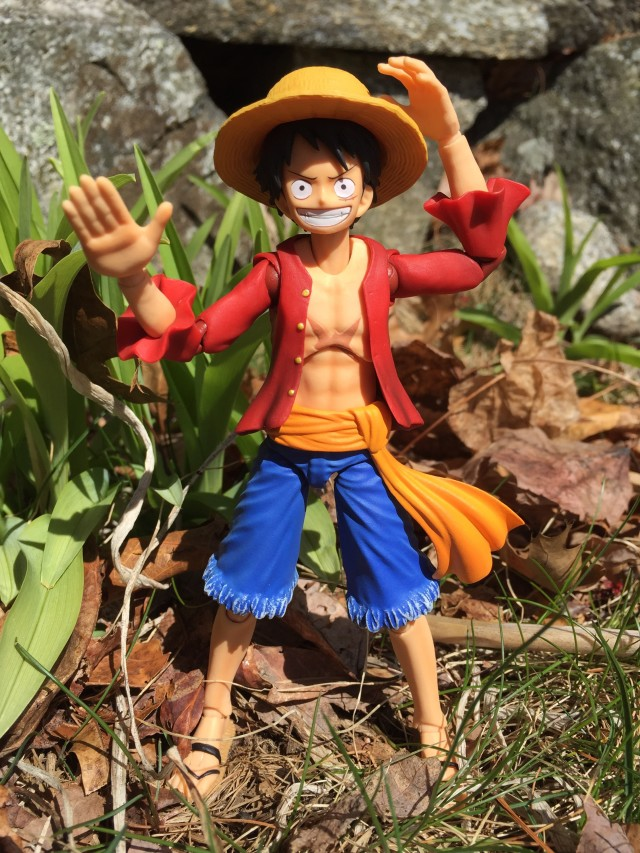 One Piece V.A.H. Luffy Action Figure MegaHouse