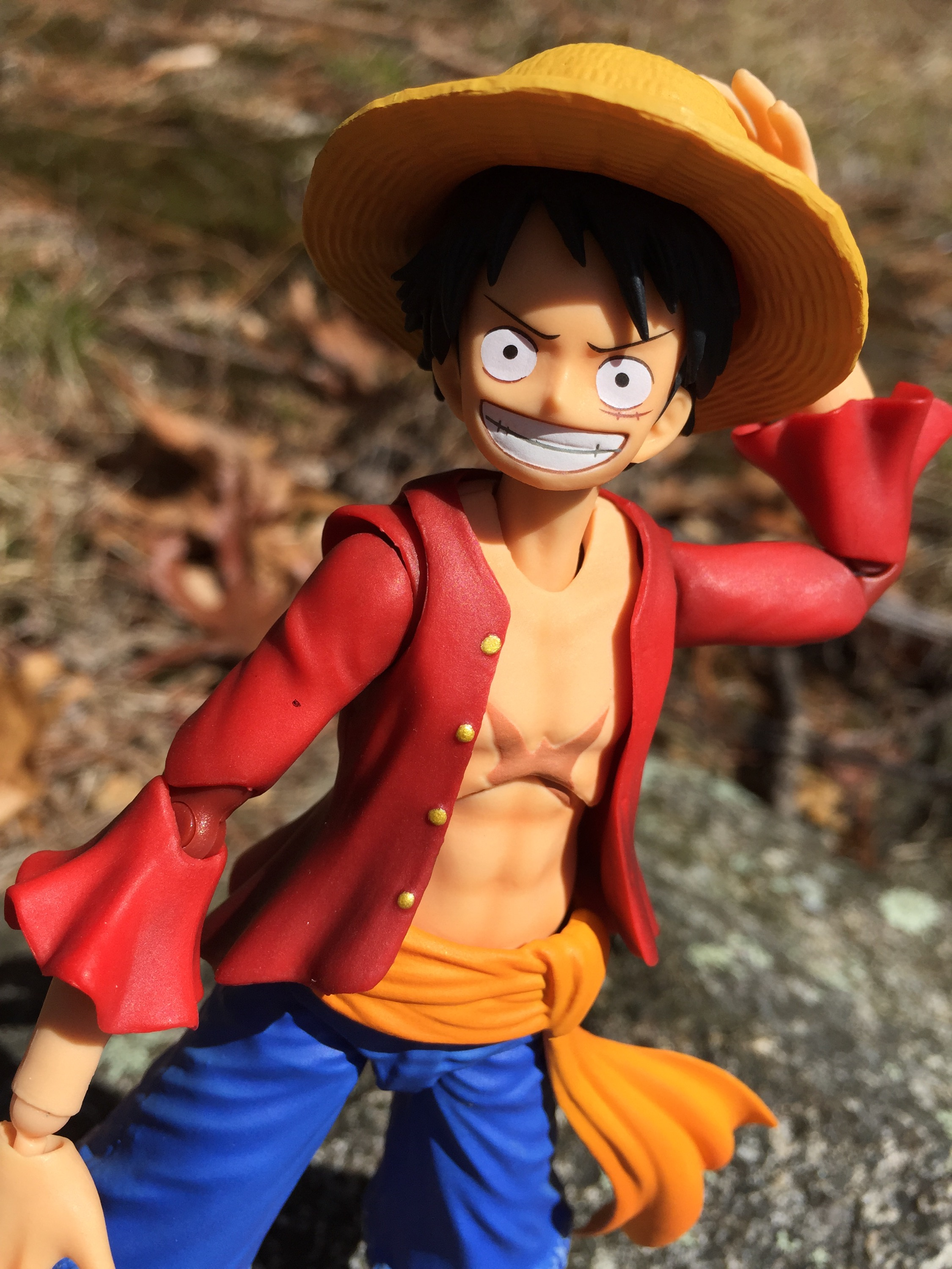One Piece VAH Monkey D. Luffy Figure Review