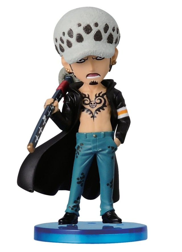 One Piece History of Law WCF Dressrosa Law Figure