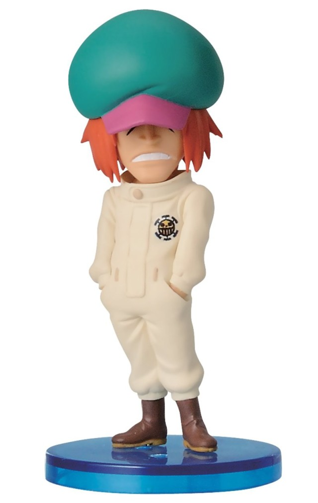 One Piece Shachi Figure Banpresto WCF
