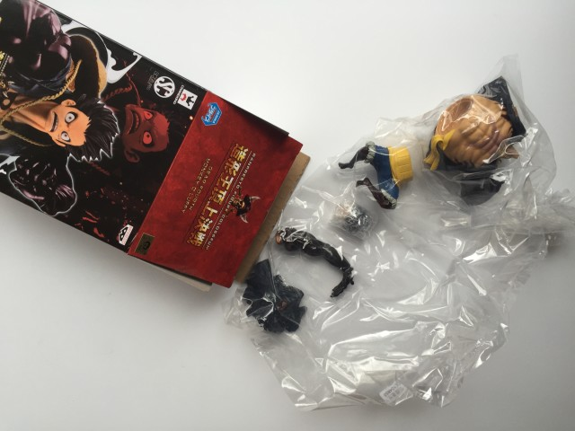 Fourth Gear Luffy SCultures Figure Unassembled Pieces