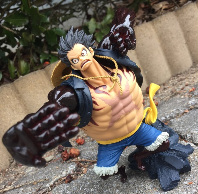 Banpresto SCultures Colosseum Gear Four Luffy Figure