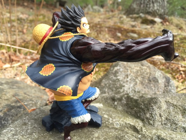 One Piece Fourth Gear Luffy PVC Figure Statue SCultures